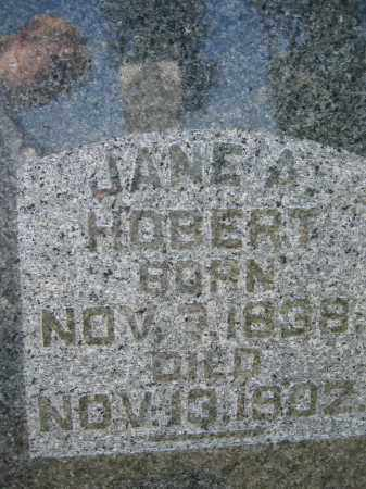 HOBERT, JANE A. - Union County, Ohio | JANE A. HOBERT - Ohio Gravestone Photos