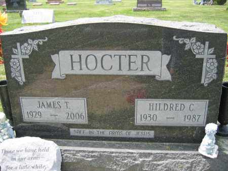 HOCTER, JAMES T. - Union County, Ohio | JAMES T. HOCTER - Ohio Gravestone Photos