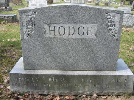 HODGE, ODA Z. - Union County, Ohio | ODA Z. HODGE - Ohio Gravestone Photos