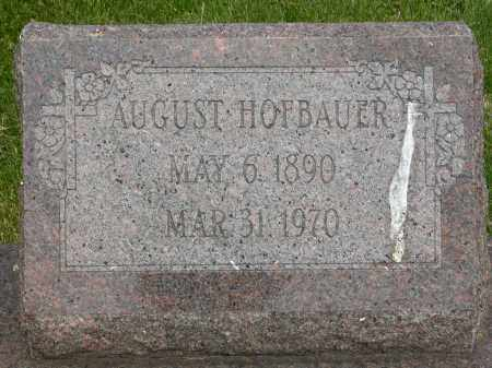HOFBAUER, AUGUST - Union County, Ohio | AUGUST HOFBAUER - Ohio Gravestone Photos