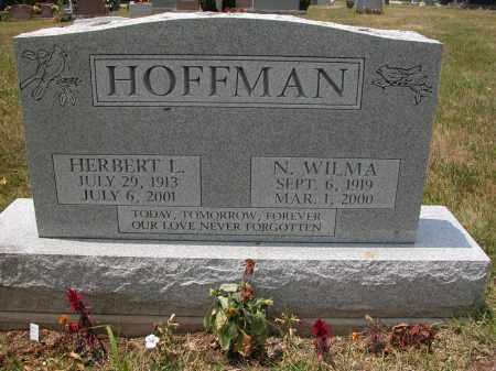 HOFFMAN, N. WILMA - Union County, Ohio | N. WILMA HOFFMAN - Ohio Gravestone Photos