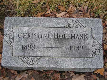 HOFFMANN, CHRISTINE - Union County, Ohio | CHRISTINE HOFFMANN - Ohio Gravestone Photos