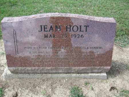 HOLT, JEAN - Union County, Ohio | JEAN HOLT - Ohio Gravestone Photos