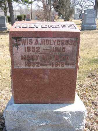 HOLYCROSS, LEWIS A. - Union County, Ohio | LEWIS A. HOLYCROSS - Ohio Gravestone Photos