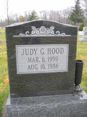HOOD, JUDY G. - Union County, Ohio | JUDY G. HOOD - Ohio Gravestone Photos
