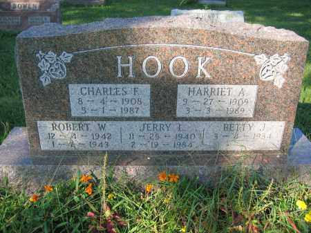 HOOK, HARRIET A. - Union County, Ohio | HARRIET A. HOOK - Ohio Gravestone Photos