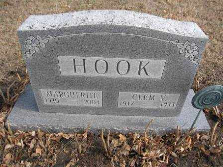 HOOK, CLEM V. - Union County, Ohio | CLEM V. HOOK - Ohio Gravestone Photos