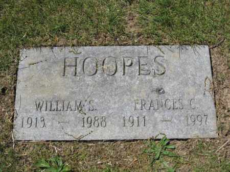 HOOPES, FRANCES C. - Union County, Ohio | FRANCES C. HOOPES - Ohio Gravestone Photos