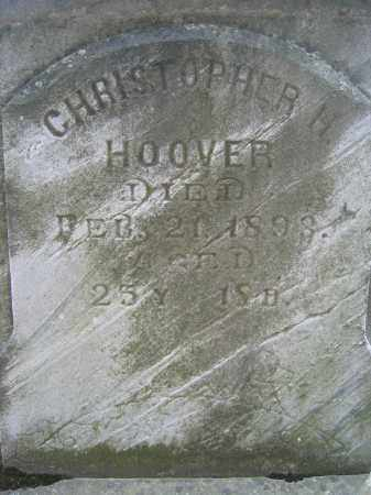 HOOVER, CHRISTOPHER H. - Union County, Ohio | CHRISTOPHER H. HOOVER - Ohio Gravestone Photos