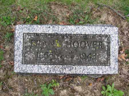 HOOVER, FRANK - Union County, Ohio | FRANK HOOVER - Ohio Gravestone Photos