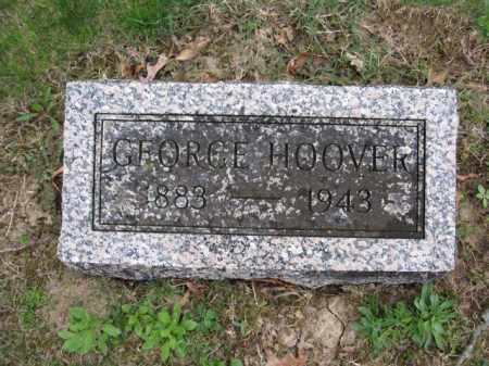 HOOVER, GEORGE - Union County, Ohio | GEORGE HOOVER - Ohio Gravestone Photos