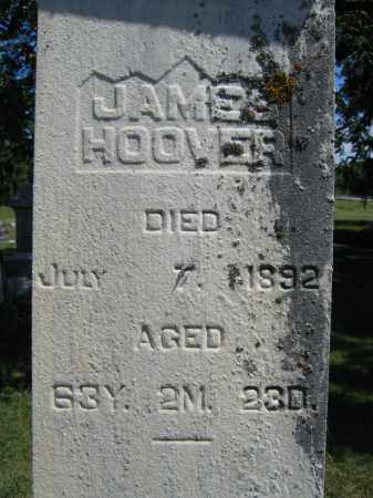 HOOVER, JAMES - Union County, Ohio | JAMES HOOVER - Ohio Gravestone Photos