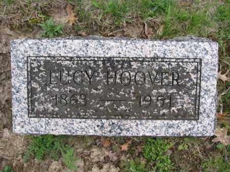 HOOVER, LUCY - Union County, Ohio | LUCY HOOVER - Ohio Gravestone Photos