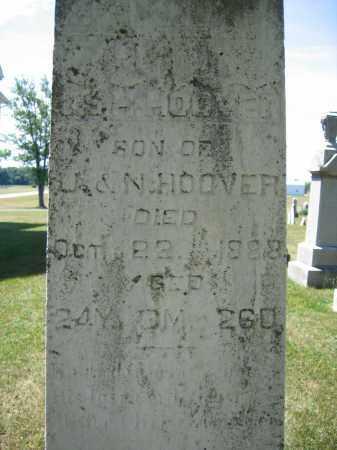 HOOVER, JSH - Union County, Ohio | JSH HOOVER - Ohio Gravestone Photos