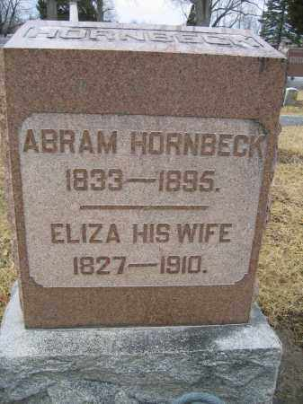 HORNBECK, ELIZA - Union County, Ohio | ELIZA HORNBECK - Ohio Gravestone Photos