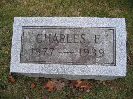HORNBECK, CHARLES E. - Union County, Ohio | CHARLES E. HORNBECK - Ohio Gravestone Photos