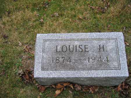 HORNBECK, LOUISE H. - Union County, Ohio | LOUISE H. HORNBECK - Ohio Gravestone Photos