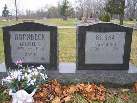 HORNBECK, RAY L. - Union County, Ohio | RAY L. HORNBECK - Ohio Gravestone Photos