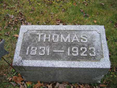 HORNBECK, THOMAS - Union County, Ohio | THOMAS HORNBECK - Ohio Gravestone Photos