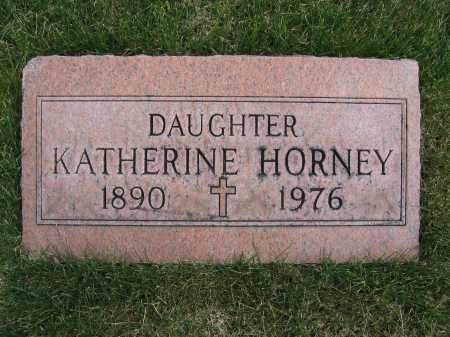 HORNEY, KATHERINE - Union County, Ohio | KATHERINE HORNEY - Ohio Gravestone Photos