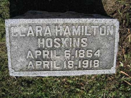 HOSKINS, CLARA HAMILTON - Union County, Ohio | CLARA HAMILTON HOSKINS - Ohio Gravestone Photos
