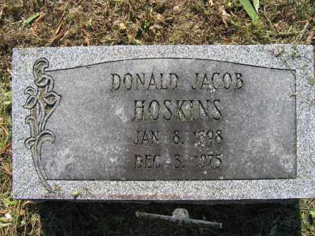 HOSKINS, DONALD JACOB - Union County, Ohio | DONALD JACOB HOSKINS - Ohio Gravestone Photos