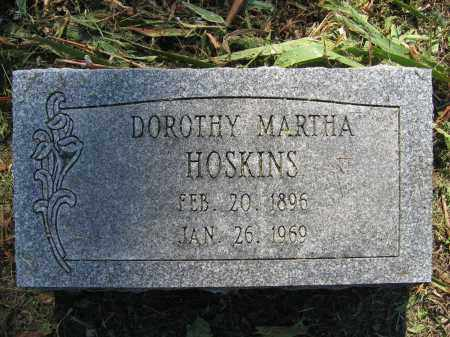HOSKINS, DOROTHY MARTHA - Union County, Ohio | DOROTHY MARTHA HOSKINS - Ohio Gravestone Photos