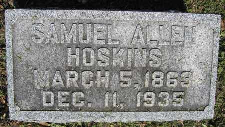 HOSKINS, SAMUEL ALLEN - Union County, Ohio | SAMUEL ALLEN HOSKINS - Ohio Gravestone Photos