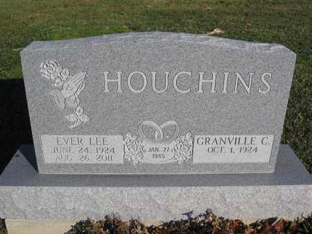 HOUCHINS, EVER LEE - Union County, Ohio | EVER LEE HOUCHINS - Ohio Gravestone Photos