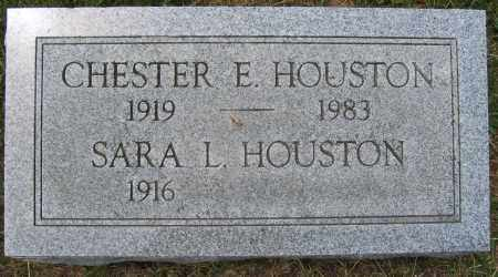 HOUSTON, CHESTER E. - Union County, Ohio | CHESTER E. HOUSTON - Ohio Gravestone Photos