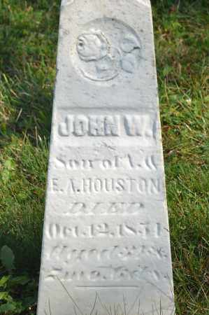 HOUSTON, JOHN W. - Union County, Ohio | JOHN W. HOUSTON - Ohio Gravestone Photos