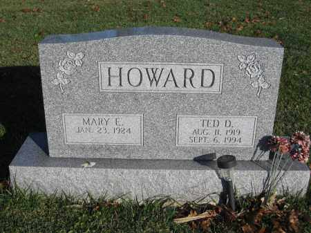 HOWARD, TED D. - Union County, Ohio | TED D. HOWARD - Ohio Gravestone Photos