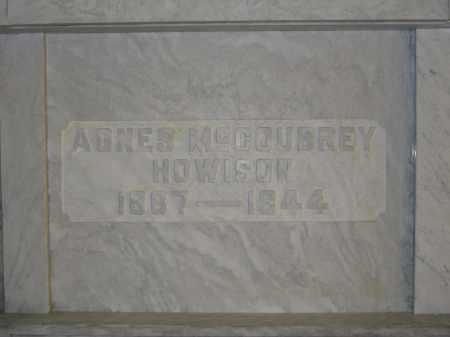HOWISON, AGNES MCCOUBREY - Union County, Ohio | AGNES MCCOUBREY HOWISON - Ohio Gravestone Photos