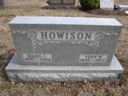 HOWISON, VERN W. - Union County, Ohio | VERN W. HOWISON - Ohio Gravestone Photos