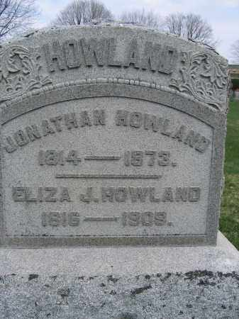HOWLAND, ELIZA J. - Union County, Ohio | ELIZA J. HOWLAND - Ohio Gravestone Photos