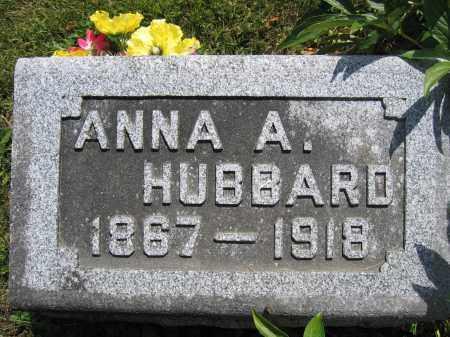 HUBBARD, ANNA A. - Union County, Ohio | ANNA A. HUBBARD - Ohio Gravestone Photos