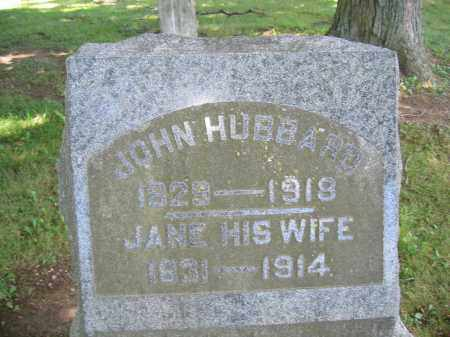 HUBBARD, JOHN - Union County, Ohio | JOHN HUBBARD - Ohio Gravestone Photos