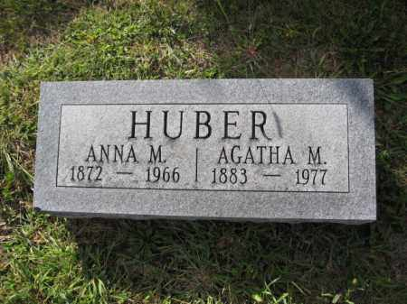 HUBER, AGATHA M. - Union County, Ohio | AGATHA M. HUBER - Ohio Gravestone Photos