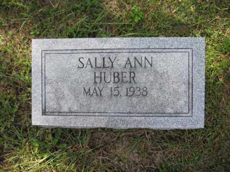 HUBER, SALLY ANN - Union County, Ohio | SALLY ANN HUBER - Ohio Gravestone Photos
