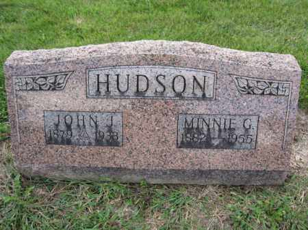 HUDSON, MINNIE G. - Union County, Ohio | MINNIE G. HUDSON - Ohio Gravestone Photos