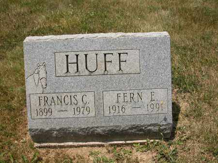 HUFF, FRANCIS C. - Union County, Ohio | FRANCIS C. HUFF - Ohio Gravestone Photos