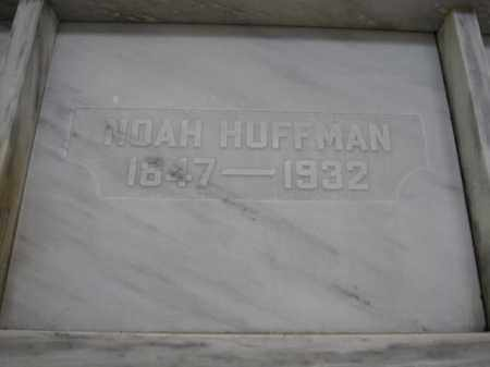 HUFFMAN, NOAH - Union County, Ohio | NOAH HUFFMAN - Ohio Gravestone Photos