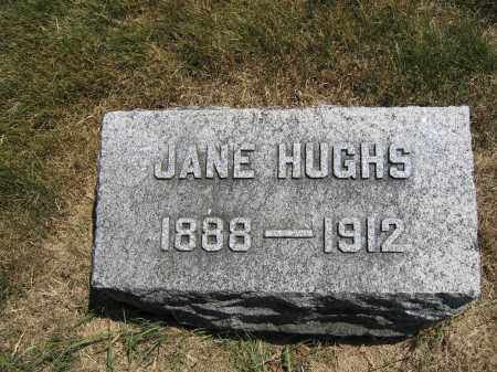 HUGHS, JANE - Union County, Ohio | JANE HUGHS - Ohio Gravestone Photos