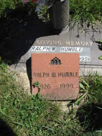 HUMBLE, RALPH W. - Union County, Ohio | RALPH W. HUMBLE - Ohio Gravestone Photos