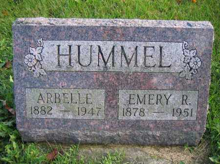 HUMMEL, EMERY R. - Union County, Ohio | EMERY R. HUMMEL - Ohio Gravestone Photos