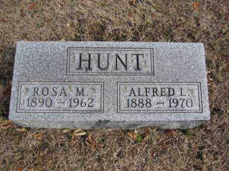 HUNT, ALFRED L. - Union County, Ohio | ALFRED L. HUNT - Ohio Gravestone Photos