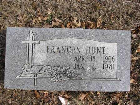 HUNT, FRANCES - Union County, Ohio | FRANCES HUNT - Ohio Gravestone Photos