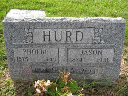 HURD, CLARA - Union County, Ohio | CLARA HURD - Ohio Gravestone Photos
