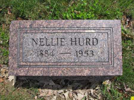 HURD, NELLIE WYGLE - Union County, Ohio | NELLIE WYGLE HURD - Ohio Gravestone Photos