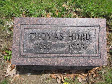HURD, THOMAS - Union County, Ohio | THOMAS HURD - Ohio Gravestone Photos